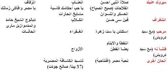 كامل الخلعى - ألحان مسرحية - 2